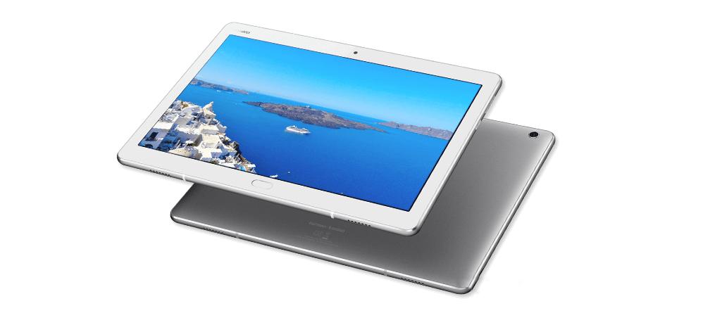 Планшет Huawei MediaPad M3 lite 10 весит всего 460 г