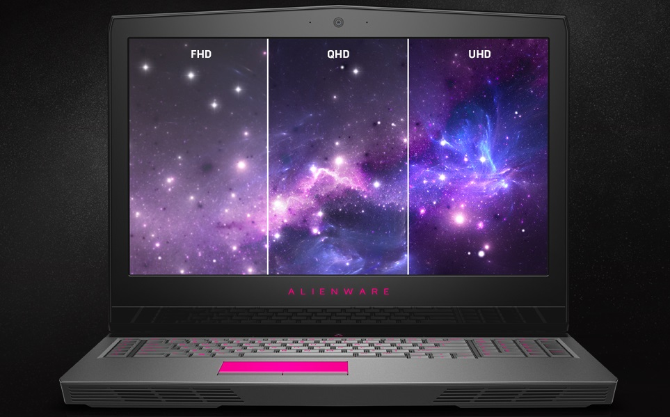 ноутбук Dell Alienware 17 R4 экран 4K