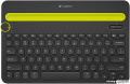 Клавиатура Logitech Bluetooth Multi-Device Keyboard K480 (черный)