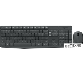 Клавиатура + мышь Logitech MK235 Wireless Keyboard and Mouse [920-007948]