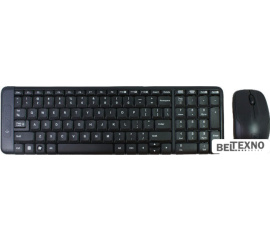 Клавиатура + мышь Logitech Wireless Combo MK220
