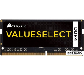 Оперативная память Corsair ValueSelect 16GB DDR4 SO-DIMM PC4-17000 [CMSO16GX4M1A2133C15]