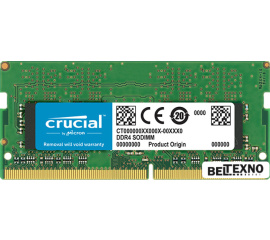 Оперативная память Crucial 4GB DDR4 SODIMM PC4-19200 [CT4G4SFS824A]