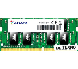Оперативная память A-Data Premier 4GB DDR4 SODIMM PC4-19200 AD4S2400J4G17-S