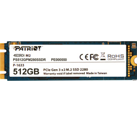 SSD Patriot Scorch M.2 512GB PS512GPM280SSDR