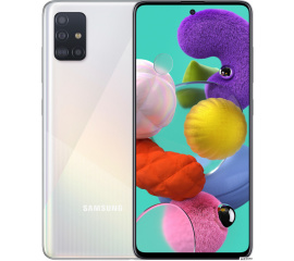Смартфон Samsung Galaxy A51 SM-A515F/DS 4GB/64GB (белый)
