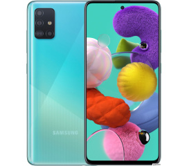 Смартфон Samsung Galaxy A51 SM-A515F/DS 4GB/64GB (голубой)