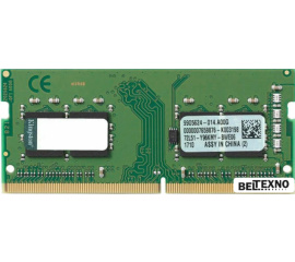 Оперативная память Kingston ValueRam 4GB DDR4 SODIMM PC4-19200 KVR24S17S6/4