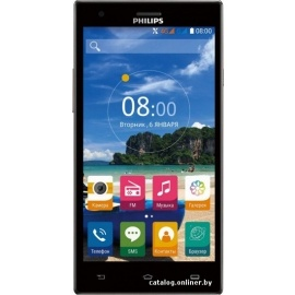 Смартфон Philips S616 Gray