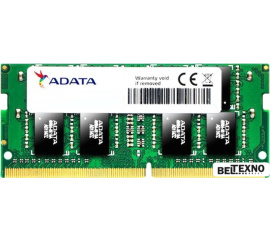 Оперативная память A-Data Premier 8GB DDR4 SODIMM PC4-21300 AD4S266638G19-S