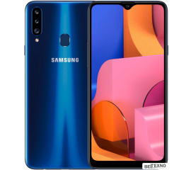 Смартфон Samsung Galaxy A20s 3GB/32GB (синий)